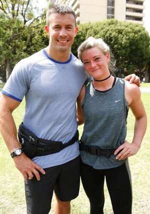 "Seth Tyler and Olivia ""Olive"" Beauregard (The Amazing Race 29)"