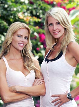 Shana Wall and Jennifer McCall (The Amazing Race 12)