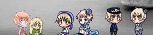 Shimejis for Mac: Hetalia- England and Sealand