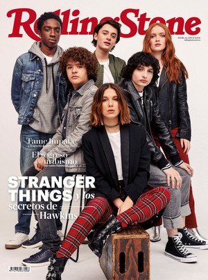Stranger Things cast - Rolling Stone Columbia Cover - 2019