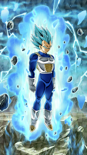 Super sayian blue Vegeta