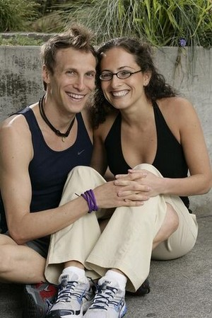 Terence Gerchberg and Sarah Leshner (The Amazing Race 13)