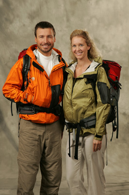 "Terry ""Lake"" and Michelle Garner (The Amazing Race 9)"