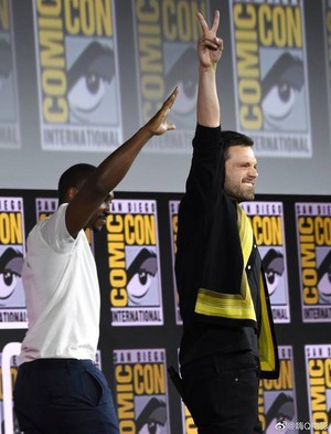 The Falcon and The Winter Soldier -2019 Marvel Comic Con-