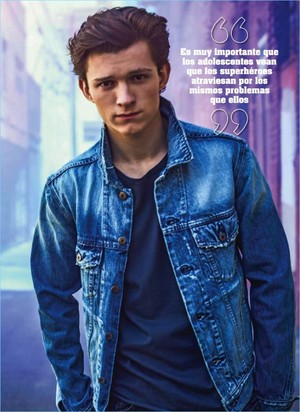 Tom Holland - Seventeen Mexico Photoshoot - 2017