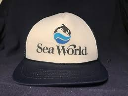 Vintage Sea World Souvenir topi