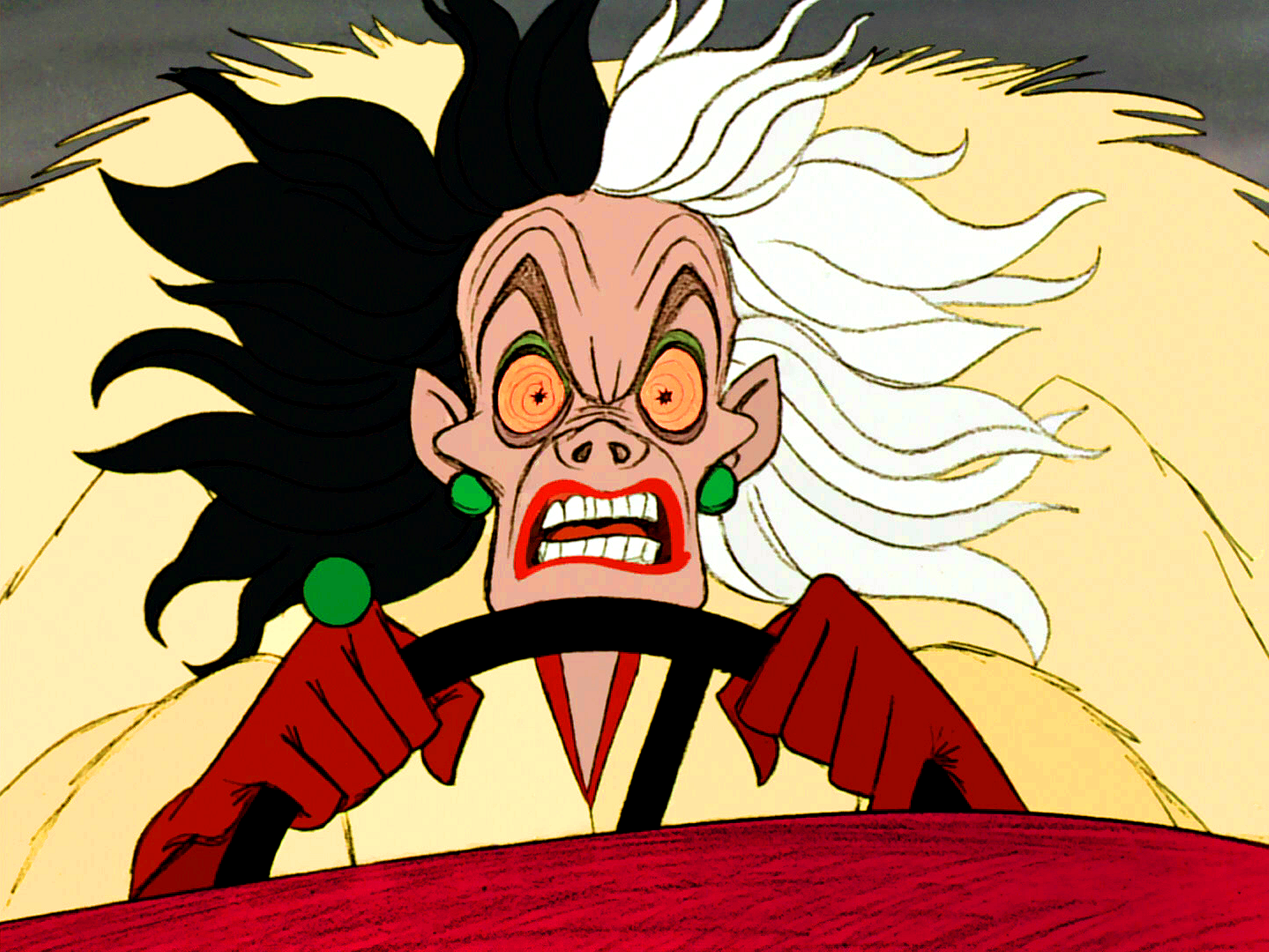 Walt Disney Screencaps - Cruella De Vil