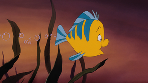 Walt Disney Screencaps – Flounder