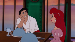 Walt 디즈니 Screencaps – Prince Eric & Princess Ariel