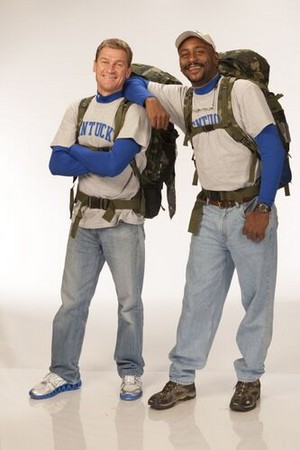 "William ""Bopper"" Minton and Mark Jackson (The Amazing Race 20)"