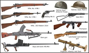 ww2 - British individual weapons