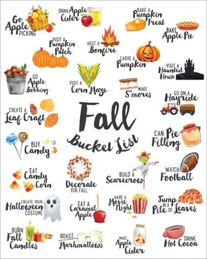 🍁Fall Bucket List🍂