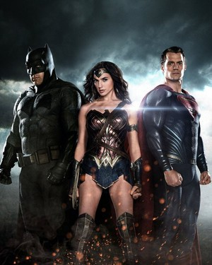 Batman v. Superman: Dawn of Justice - Batman, Wonder Woman and Superman