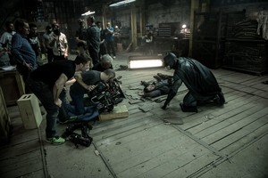 Batman v. Superman: Dawn of Justice - Behind the Scenes - Ben Affleck and Zack Snyder