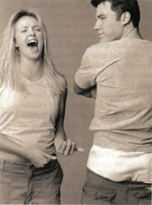 Ben Affleck and Charlize Theron - Entertainment Weekly Photoshoot - 2000