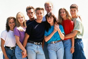 Beverly Hills, 90210 Cast Back in 1990