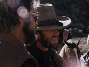 Clint behind the scenes for The Outlaw Josey Wales (1976)