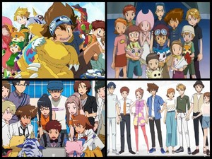 Digimon Adventure, 02, Tri, Last Evolution Kizuna than and now