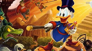 Ducktales remastered kertas dinding
