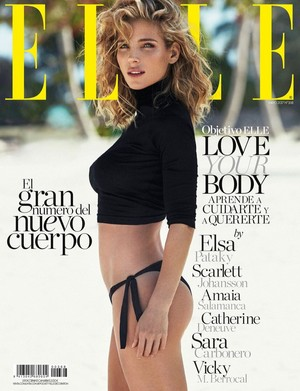 Elsa Pataky - Elle Spain Cover - 2017