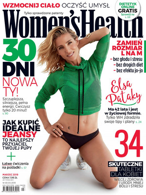 Elsa Pataky - Women's Health Poland Cover - 2019