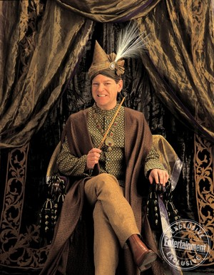 Gilderoy Lockhart Looking Fabulous in a Very Fancy Hat