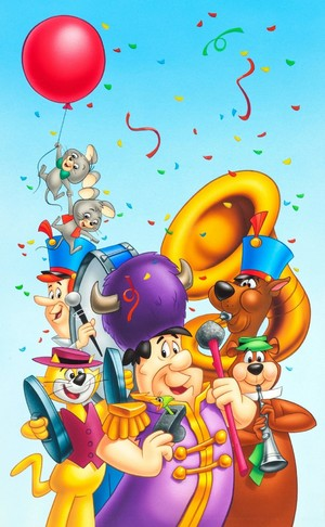 Hanna Barbera Marching Band