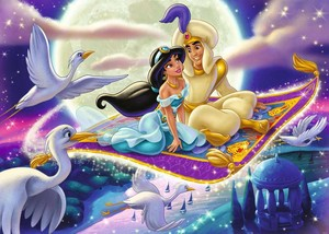 gelsomino and Aladdin