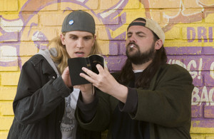gaio, jay and Silent Bob in 'Clerks 2'