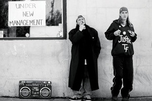 gaio, jay and Silent Bob in 'Clerks'