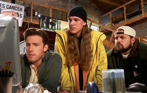 gaio, jay and Silent Bob in 'Jay and Silent Bob Strike Back'