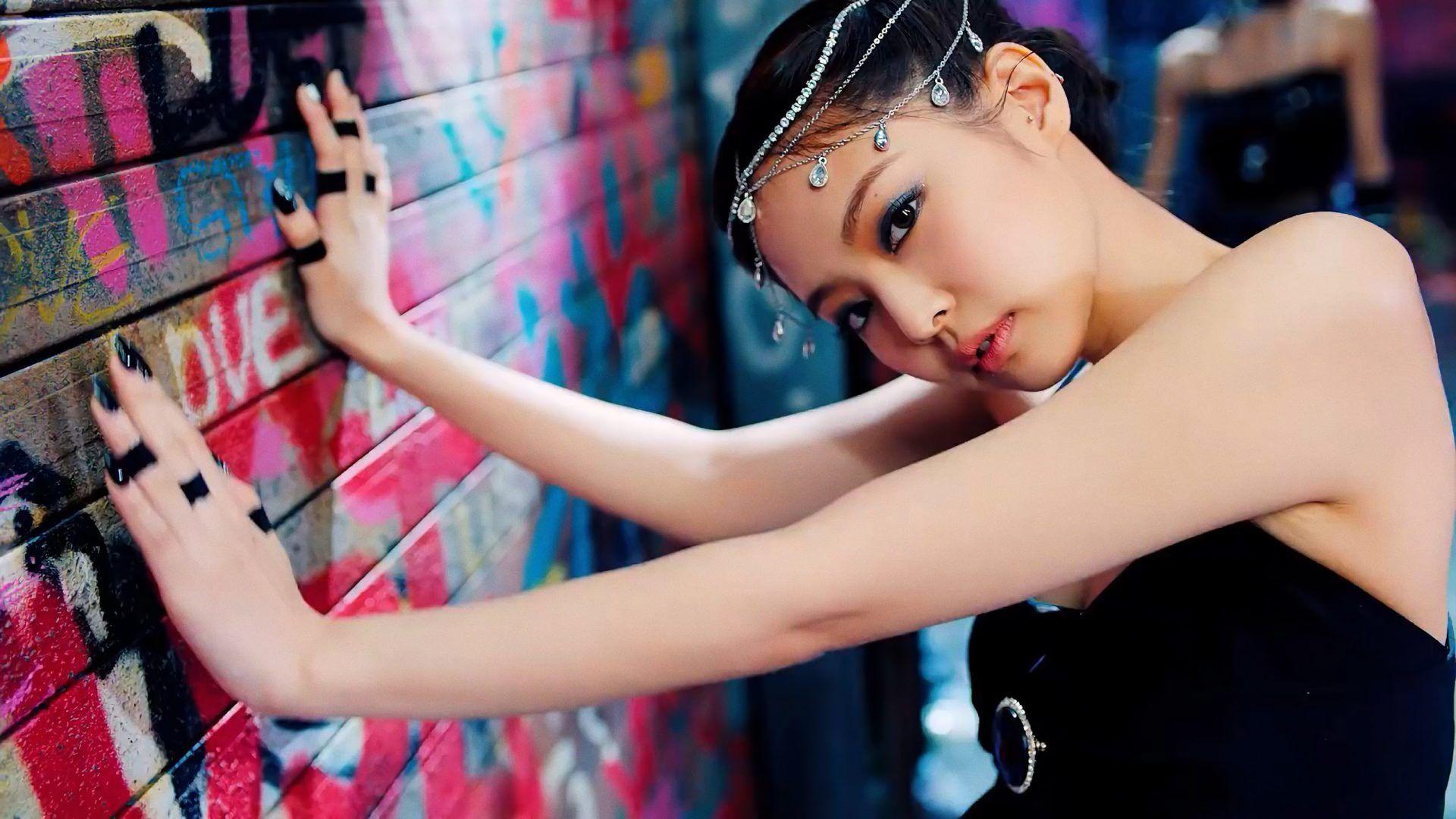 Jennie Blackpink Wallpaper Black Pink Wallpaper 43078194 Fanpop