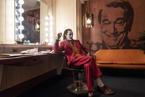 Joaquin Phoenix as the Joker in 'Joker'