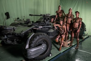 Justice League (2017) Behind the Scenes - Amazons