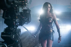 Justice League (2017) Behind the Scenes - Gal Gadot