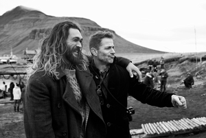 Justice League (2017) Behind the Scenes - Jason Momoa and Zack Snyder
