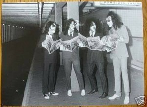KISS (NYC ) October 26, 1974 (Dressed to Kill photo shoot)