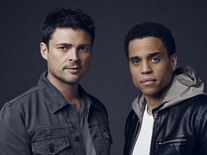 Karl Urban and Michael Ealy - Almost Human Portrait - 2013