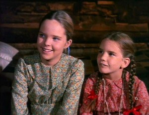 Mary and Laura Ingalls