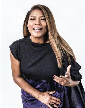 Queen Latifah - Backstage Photoshoot - 2015