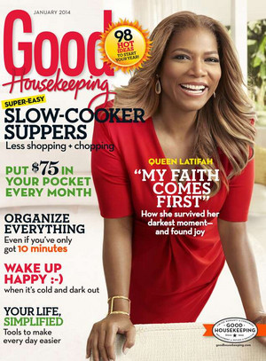 Queen Latifah - Good Housekeeping Cover - 2013