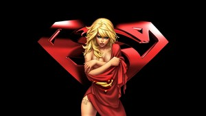 Supergirl In Red Cape