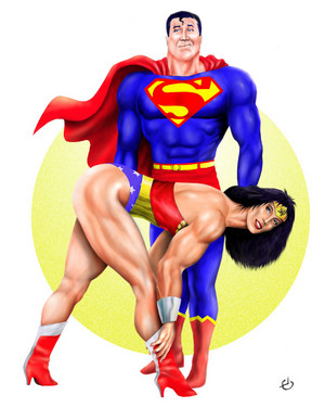 superman & Wonder Woman - Hot & Sexy