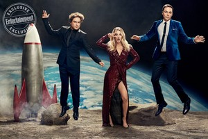 TBBT Cast in Entertainment Weekly (2019)