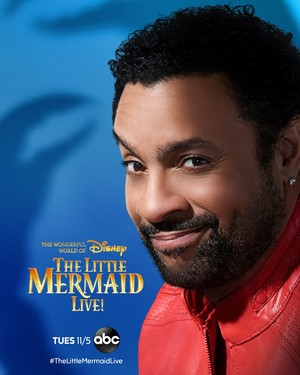 The Little Mermaid Live! (2019) Character Poster - Shaggy as Sebastian