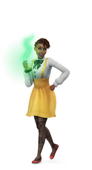 The Sims 4: Realm of Magic Renders