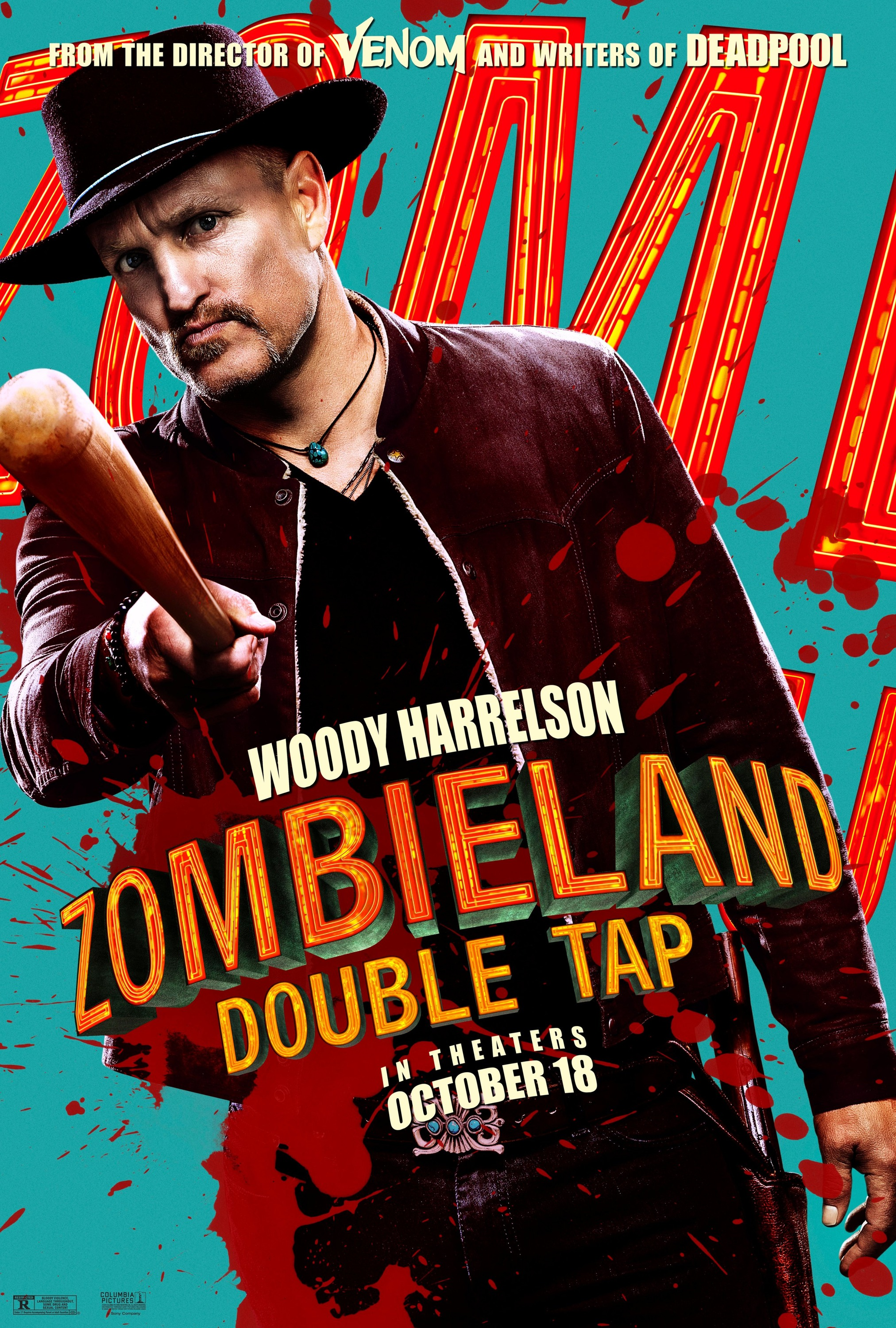 Zombieland: Double Tap (2019) Character Poster - Woody Harrelson as Tallahassee
