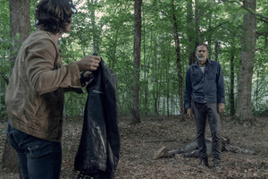 10x05 ~ What It Always Is ~ Negan and Brandon