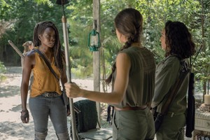 10x08 ~ The World Before ~ Michonne, Cyndie and Rachel