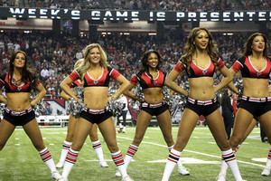Atlanta Falcons Cheerleaders - The 2012 NFL Season